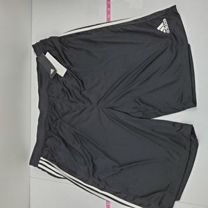 Adidas athletic shorts 3XLT black J77